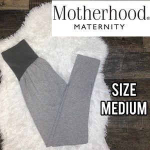 Motherhood maternity gray skinny leggings